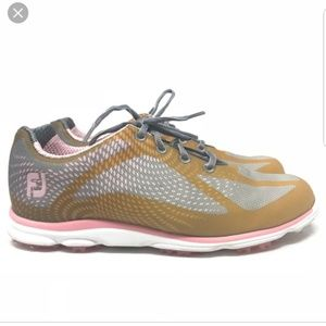 Footjoy FJ Pink Golf emPOWER Spikeless Shoe 98000